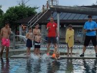 schwimmen - velofahren - rennen