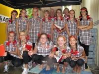 Mädchenriege 5. Klasse - Bibliothek