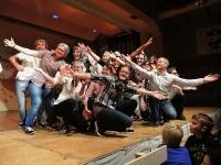 Turnverein Aerobic - s'Trudi Gerster verzellt