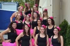 Chränzli 2018 - Damenrige Gymnastik - Burlesque