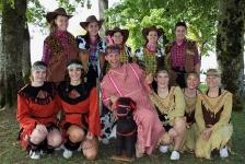 Chränzli 2018 - gemischte Gruppe Geräte - der Schuh des Manitu