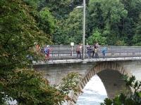 Jugi Reise von Rheinau zum Rheinfall