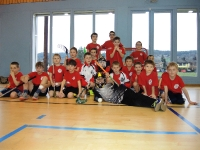 Jugi Gossau am Unihockey Turnier in Embrach