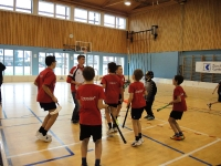 Jugi Gossau am Unihockey Turnier in Embrach