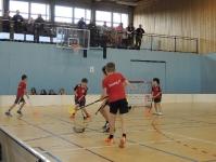 Unihockey Turnier mit 4 Gruppen