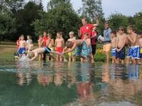 Schwimmen - Velofahren - Laufen -> Jugi Triathlon